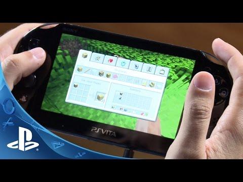 Minecraft: PS Vita Edition Hands-On