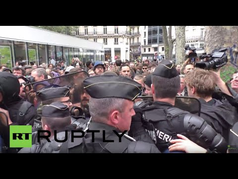 France: Tensions soar as thousands protest against police brutality