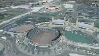 Beijing 2008 in Google Earth 3D