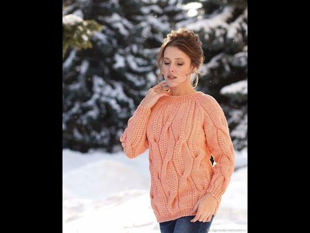 Вязание Свитера Спицами для Женщин - модные модели 2019 / Knitting Sweater Knitting for Women Models