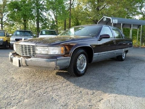 1996 Cadillac Fleetwood Brougham Start Up. Exhaust. and In Depth Tour