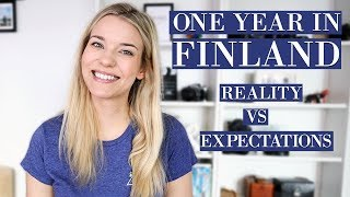 LIVING IN FINLAND: REALITY VS EXPECTATIONS