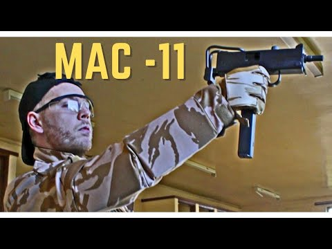 Airsoft War Systema M4, MAC-11 Airsoft Action