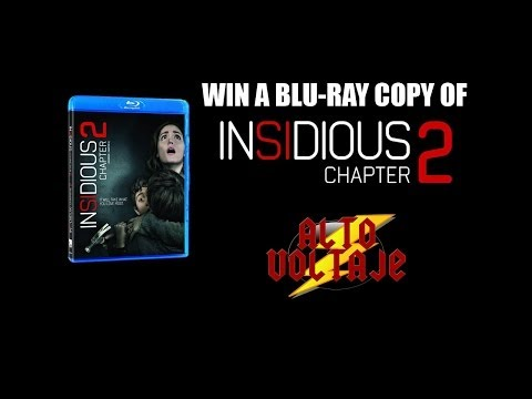Win a Blu- Ray copy of Insidious Chapter 2