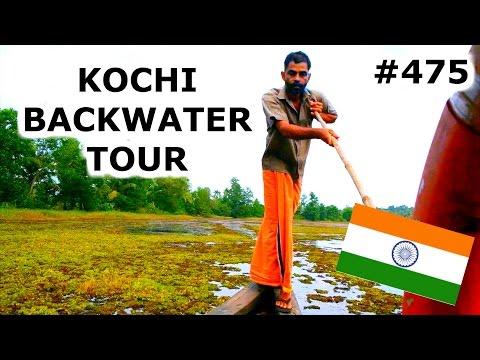 KOCHI BACKWATER TOUR | KOCHI DAY 475 | INDIA | TRAVEL VLOG IV