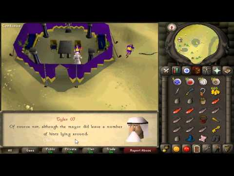 The Feud Quest Guide Runescape 2007