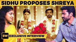 Thirumanam Serial Sidhu & Shreya Super Fun Interview | GND 19