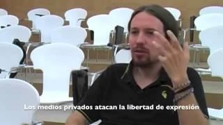 Pablo Iglesias (Podemos): Su auténtica cara y la de sus secuaces.