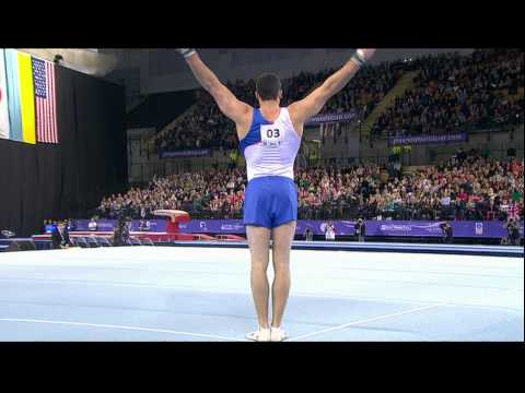 Kristian Thomas (GBR) Floor