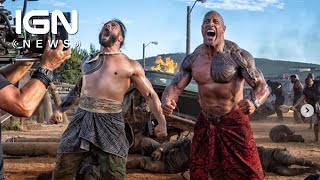 Roman Reigns Joins The Rock in Fast and Furious Spinoff - IGN News