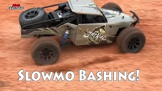 Slowmo RC offroad rally cars buggies bashing adventures