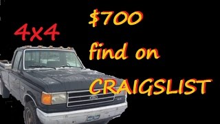 $700 Truck found on Craigslist! Find deals like this too!