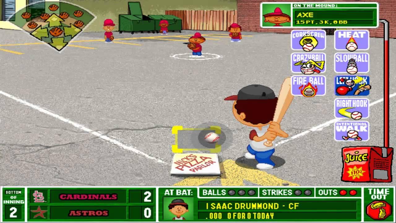 let 39 s play backyard baseball 2003 game 2 part 1 3 youtube