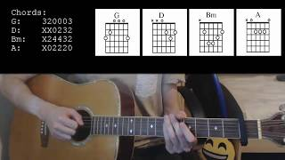 Download Lagu Thomas Rhett - Marry Me EASY Guitar Tutorial Gratis STAFABAND