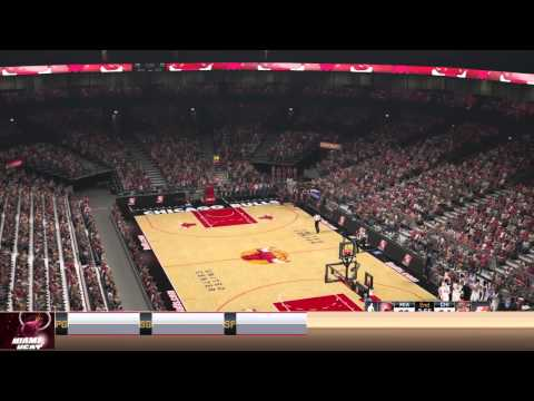 NBA 2K15 Chicago Bulls @ Miami Heat