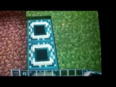 How to make a ender portal in minecraft xbox 360 creative mode