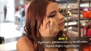 Signal & Sephora İlkbahar - Cat Eye Makyaj Nasıl Yapılır - Ezgi ...