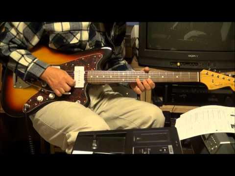 Manchurian Beat 1971 The Ventures Bob Bogle version coverさすらいのギター
