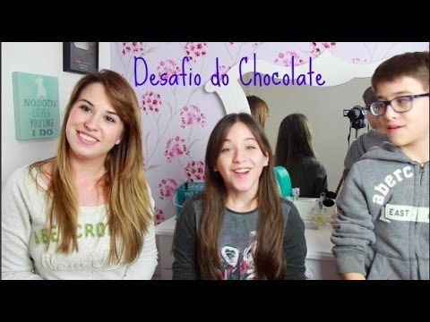 Desafio do Chocolate com Fabi e Rick