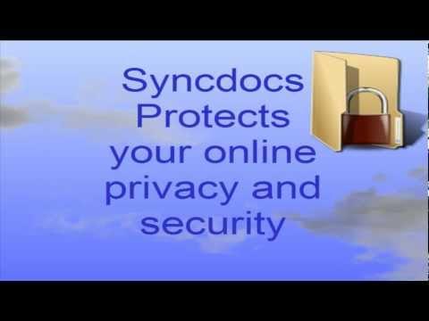 Syncdocs version 3 - Google Drive Encryption