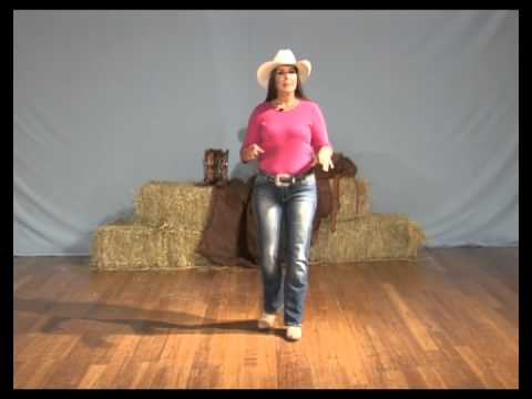 Learn How To Line Dance - The Electric Slide Line Dance Instruction video