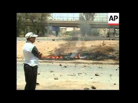 WRAP Baghdad attacks and car bomb, plus Al Arabiya correspondent shot
