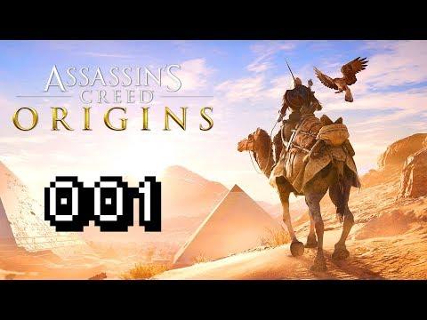 PART 1: BAYEK & HEPZEFA - Lets Play Assassins Creed Origins Gameplay #001 Deutsch German