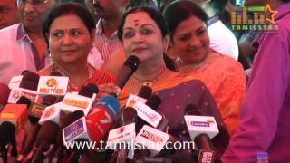 Nadigar Sangam Building Foundation Laying Ceremony