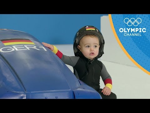 Cover Lagu If Cute Babies Competed in the Winter Games | Olympic Channel