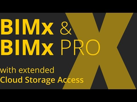 BIMx & BIMx PRO New Features 2015 – Overview