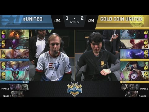 EUN (Fox Jayce) VS GCU (Fenix Ryze) Game 4 Highlights - 2017 NACS Spring Final