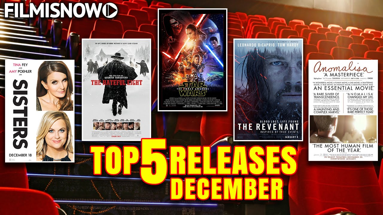TOP 5 Releases December 2015 - What are you going to watch? [HD]