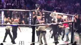 Conor McGregor Gets Attacked By Khabib's Teammate After Fight At UFC 229