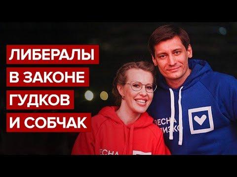 Либералы в законе Гудков и Собчак