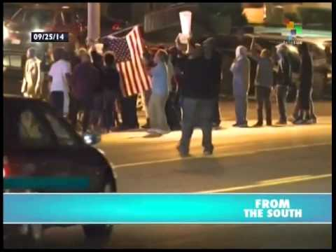 Renewed protests flare in Ferguson, Miccouri