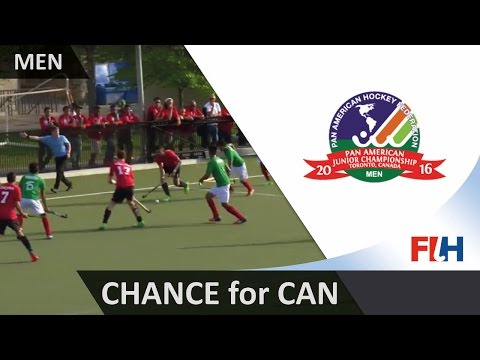 CAN 1-1 MEX The ball goes inches past the post for Canada with the keeper beaten #JrPanam2016