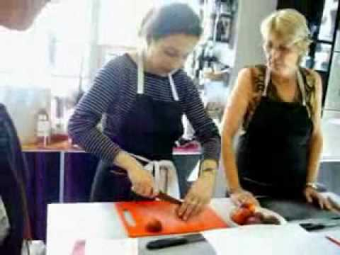 Learn French Nice France: Cooking Lessons - Video