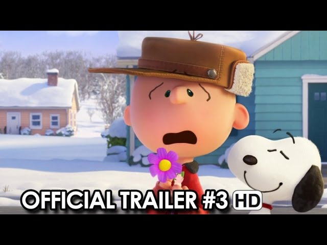 Peanuts Official Trailer #3 (2015) - Snoopy, Charlie Brown Movie HD