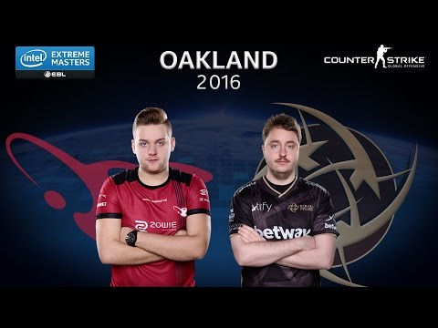 CS:GO - Mousesports vs. NiP [Overpass] - Group B - IEM Oakland 2016