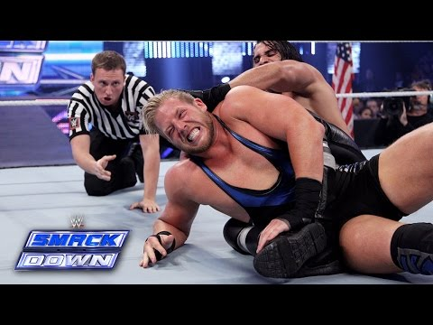 Jack Swagger vs. Seth Rollins: SmackDown, Aug. 22, 2014