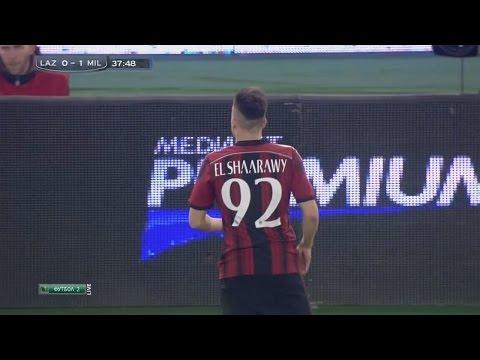 Stephan El Shaarawy vs Lazio Away HD 720p (24/01/2015)