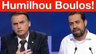 Briga de Bolsonaro x Boulos no Debate da Band! Bolsonaro chama Guilherme Boulos de desqualificado!