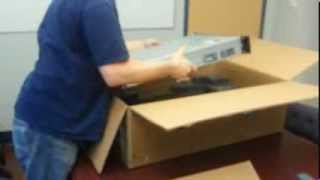 Dell PowerEdge R520 server unboxing by Intellibeam.com
