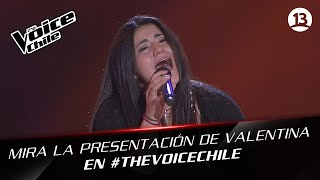 The Voice Chile | Valentina Chavez - Miénteme una vez