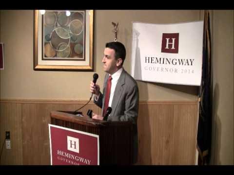 Hemingway Announcement speech