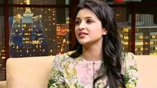 Komal Nahta with Arjun Kapoor & Parineeti Chopra