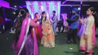 PUNJABI MARRIAGE DANCE DHAMAKA