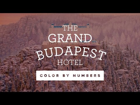The Color Palette of THE GRAND BUDAPEST HOTEL