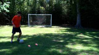 How to do the Advanced Scissors - Soccer Training - Online Soccer Academy