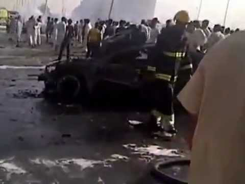 Riyadh gas truck explosion 26 killed on Nov 01, 2012